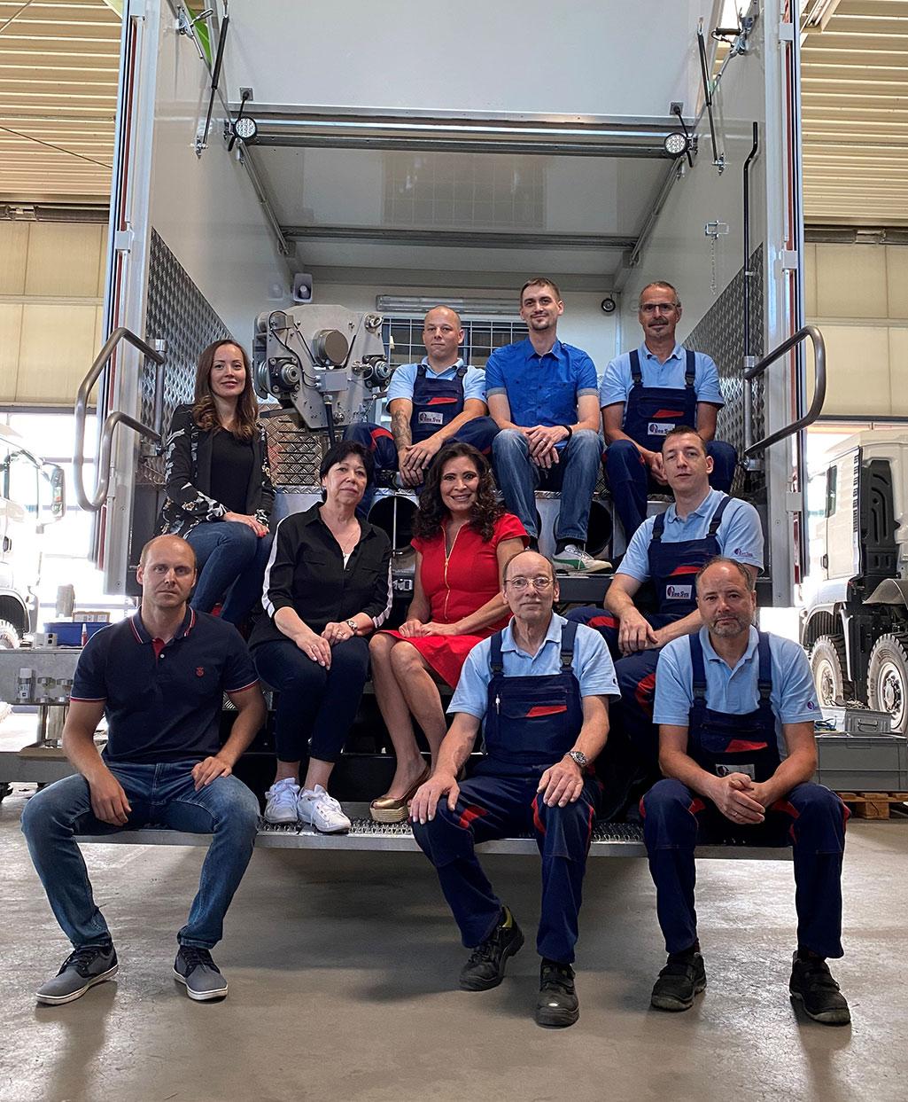 geosys germany team